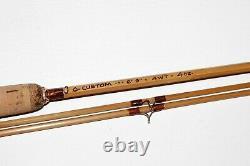 6' 9' 2/2 4wt Bamboo Fly Rod Q-Custom EX NR