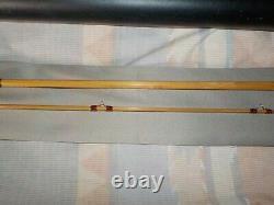 A 7'6 5 Wt, 2 Piece, Tea Stick Bamboo Fly Rod with Bag & Tube