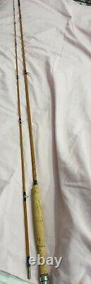A Fine Vintage Hardy Phantom 9ft #6 Trout Fly Rod Very Good Condition