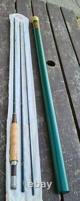 A Scarce R L Winston Fly Rod 9'6 #6 This Has The Walnut Trimmed Handle Bag Tube