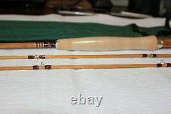 American Built Bamboo 7ft 4/5wt with2 tips Classic taper New with rod sock