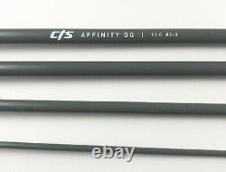 CTS 11'0 2/3 Weight Trout Spey Switch Fly Rod Space Gray