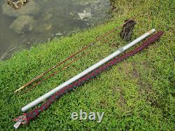 Collector's 2pc Fenwick FF112S 9'3 10 weight feralite Glass Fly Rod vintage