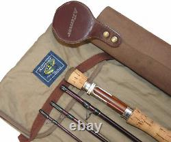 Daiwa Altmore Rendezvous 9 4-piece trout fly rod, bag & Suede tube