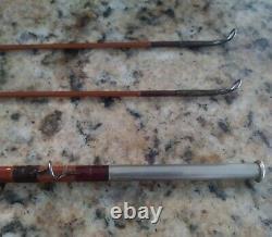 Edwards Bristol F-18 7'6 2/2 Bamboo Fly Rod Vintage Bamboo Rod