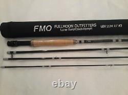 Father's Day Sale New FMO Series Lunar Euro Nymph Fly Rod 11 3wt 4-pc