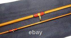 Hardy Palakona 6 2-piece split cane trout fly rod in best condition line #5