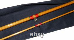 Hardy Palakona 8' trout fly rod 1968 in stunning condition with bag