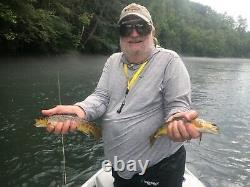 Hardy Zephrus fly rod FWS 8 1/2 4wt. Yellowstone Angler Shootout Best 4wt