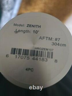 Hardy zenith sintrix 10' #7 fly fishing rod. Trout seatrout