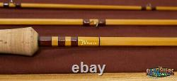 JV Rod Co. 9935 Model Bamboo Fly Rod 8'3 3 Piece with 4wt Tip and 5wt Tip