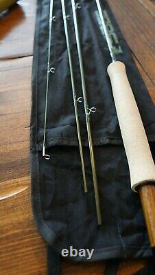 NWT Sage Fly Fishing Circa Fly Rod, 8' 9 3-Weight, 4-Pc Trout Fishing Fly Rod