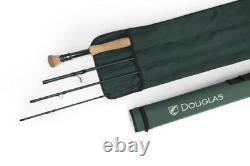 New Douglas Dxf 6964 9' 6 #6 Wt Fly Rod With Tube, Warranty, Free $80 Sa Line