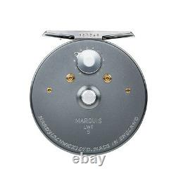 New Hardy Marquis 5 Fly Reel For #5/6 Weight Rod Made In Uk - Free Us. Shipping