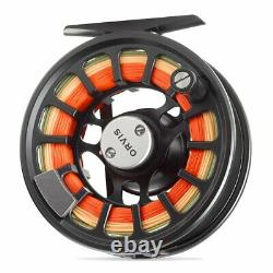 New Orvis Hydros III Fly Reel In Matte Blue For 5-7 Weight Rod Free Us Shipping