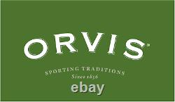 New Orvis Hydros II Fly Reel Matte Green For 3, 4 Or 5 Weight Rod Free Us Ship
