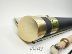 Orvis Superfine Trout Bum Fly Fishing Rod. 8' 4wt. With Tube And Sock