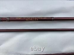 Orvis Zero Gravity 795-4pc Mid Flex 6.5 7-9 Long (2 7/8oz) 5wt Fly Rod with Tube