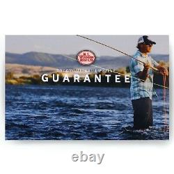 R L Winston Pure Fly Rod 10 FT 5 WT FREE HARDY REEL FREE 2 DAY SHIPPING