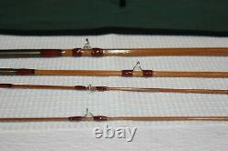 Readings Fly Shop USA Bamboo 7ft 6inch 3/4wt with2 tips Orvis Battenkill taper