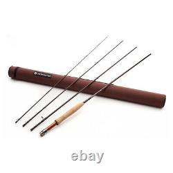 Redington 5WT Lightweight 4 Piece Classic Trout Angler Fly Fishing Rod, Red