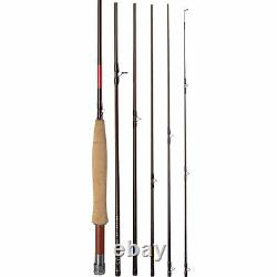 Redington Classic Trout 380-6 8' 0 #3 Weight 6 Pc. Pack Fly Rod, Tube, Warranty