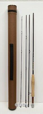 Redington Classic Trout 386-4 8'6 3wt 4pc Fly Fishing Rod +Case Nice Condition