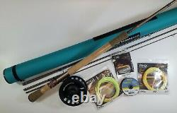 Redington Dually Trout Spey Complete Outfit- 10'6 3wt 4pc NEW