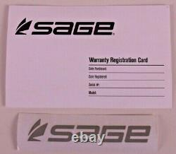 Sage Dart 6 FT 6 IN 3 WT Fly Rod FREE FLY LINE FREE 2 DAY SHIPPING