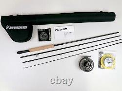 Sage Foundation Fly Rod Outfit 9 FT 5 WT FREE FAST SHIPPING 590-4