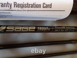 Sage Trout LL 590-4 9 Foot 5 Weight Fly Rod UNREGISTERED Warranty! Immaculate