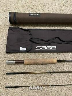 Sage VPS Light 490-3 90 4wt Fly Fishing Rod with Rod Tube and Rod Sock