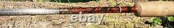 Scott 9' 3 Piece Fly Rod, Case, G908/BT124, 8 Bass/Trout, 3.8 Oz. Used, Nice