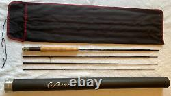 Scott S3 854/4, 86 #4 weight, 2.9 ounce, 4 piece fly rod. Pre-owned