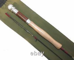 Sue Burgess Diamondback Graphite 7 2 piece brook trout fly rod, #3/5 plastic