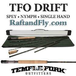 TFO Drift 3wt Fly Rod Trout Spey/ Nymph/ Single Lifetime Warr FREE SHIPPING