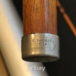 Vintage F. E. Thomas Special Bamboo Fly Rod 9'0 3/2 Bamboo Rod With Thomas Tube