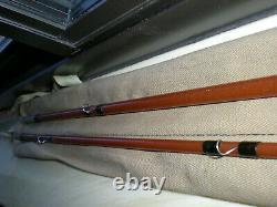 Vintage, Rare''Orvis'' 8' 2pc. 4-1/4oz. 8wt. Fiberglass Fly Rod. EXC
