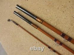 Vintage early SHARPES of ABERDEEN'SCOTTIE' 10' 6 Split Cane Trout Fly rod