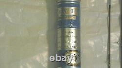 Vtg orvis madison 8 1/2' 2 piece impregnated bamboo fly rod 55969 With sack & tube