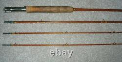 WRIGHT & McGILL GS8642 GRANGER SPECIAL 8 1/2' BAMBOO FLY ROD 3/2 CONF EX COND