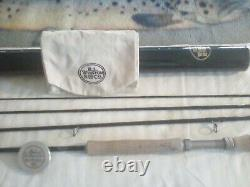 Winston BX111x fly rod 9' 6 6wt original tube and sock great condition