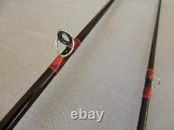 7'6 Hardy Graphite De-luxe #4-5 Trout Fly Fishing Rod + Makers Bag