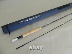 7ft 9in Orvis Clearwater 2 #5 Tige De Pêche À La Mouche + Fabricants Cordura Tube