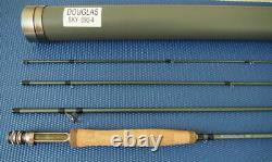 Douglas Sky 9' 6wt 4pc Fly Rod 6904 Excellent