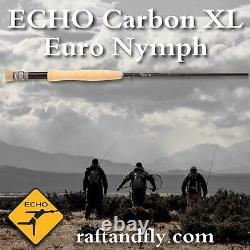 Echo Carbon XL Euro Nymph 4wt 10'0 Garantie À Vie Livraison Gratuite