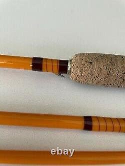 Fibre De Verre Lamiglas 66 / 6pc / 3wt Fly Rod Custom Build