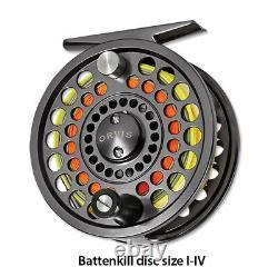 Nouveau Disque Orvis Battenkill II Fly Reel Pour 3, 4 Ou 5 Wt Rod Free Us Navire