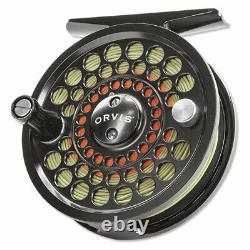 Nouveau Orvis Battenkill II Cliquez Sur Pawl Fly Reel Pour 3, 4 Ou 5 Wt Rod Free Us Navire