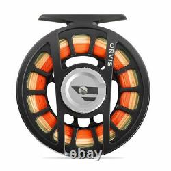Nouveau Orvis Hydros II Fly Reel Matte Green Pour 3, 4 Ou 5 Weight Rod Free Us Navire